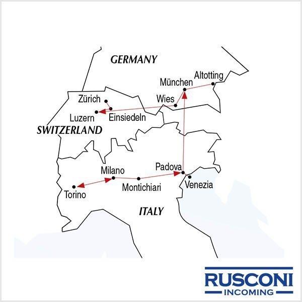 Rusconi Viaggi Incoming Italy Germany Switzerland