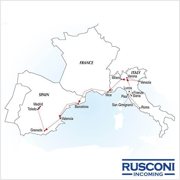 Rusconi Viaggi Incoming Italy France Spain