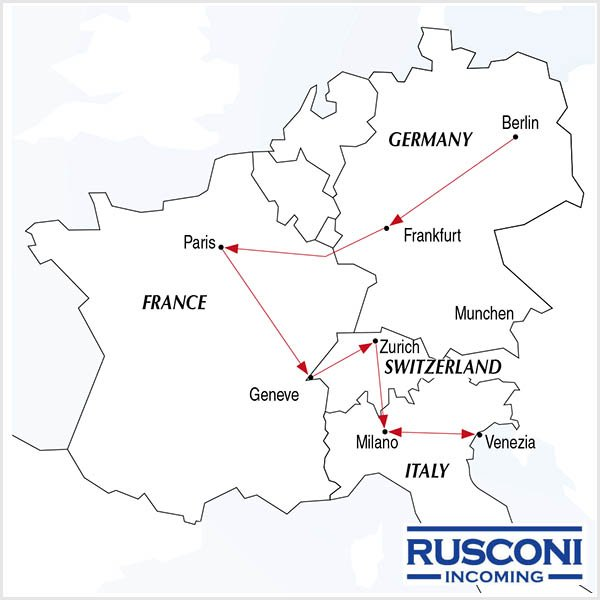 Rusconi Viaggi Incoming Germany France Switzerland Italy
