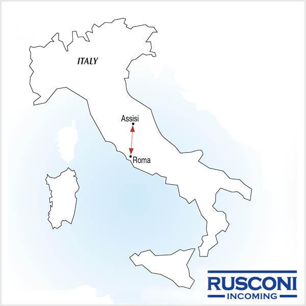 Peregrinação privada a Roma e Assis 5 dias
