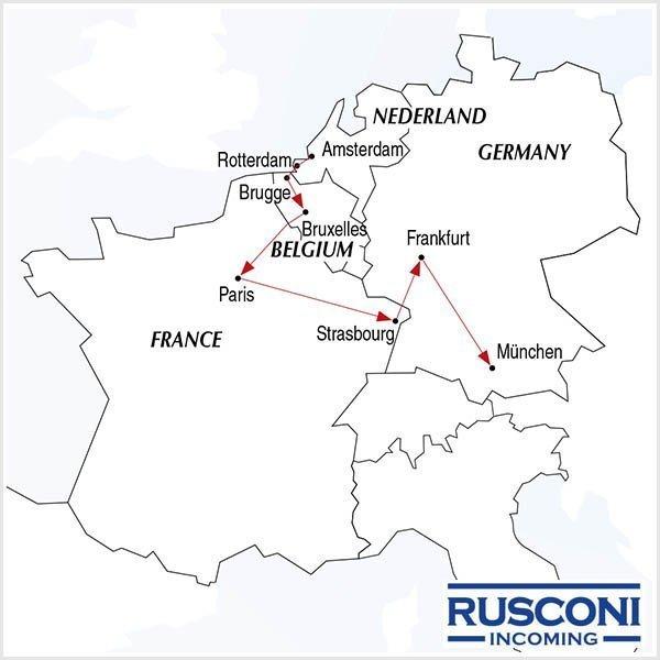 Rusconi Viaggi Incoming Holland Belgium France Germany