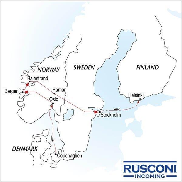Rusconi Viaggi Incoming Denmark Norway Sweden Finland
