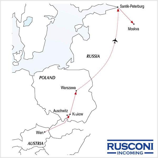 Rusconi Viaggi Incoming Austria Poland Russia